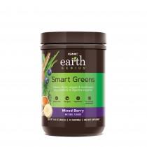 GNC EARTH GENIUS™ SMART GREENS®, cu aroma de fructe de padure, 408 g