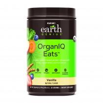 GNC Earth Genius™ OrganIQ Eats™, Pudra Proteica Vegetala cu Gust de Vanilie Naturala, 813.4 g