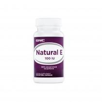 GNC Natural E, Vitamina E Naturala 100 UI, 100 cps
