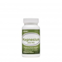 GNC Magneziu 250 mg, 90 Tablete