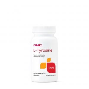 GNC L-Tyrosine 500 mg, L-Tirozina, 60 tb