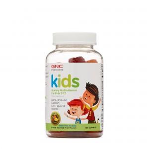 GNC Milestones® Kids Multivitamin Gummy, Multivitamine Pentru Copii 2-12 Ani, 120 Jeleuri