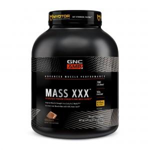 GNC AMP Mass XXX™, Gainer Proteic cu Aroma de Ciocolata, 2730 g