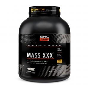 GNC AMP Mass XXX™, Gainer Proteic cu Aroma de Vanilie, 2724 g