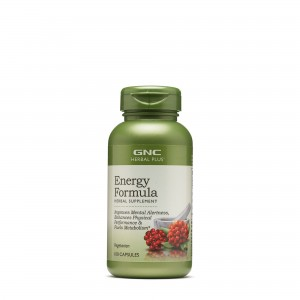 GNC Herbal Plus® Energy Formula, Formula pentru Energie, 100 cps