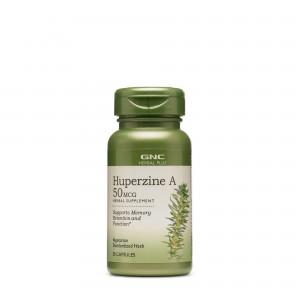 GNC Herbal Plus® Huperzine A 50 mcg, Huperzina A, 50 cps
