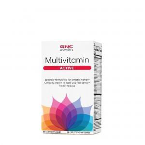 GNC Women's Multivitamin Active, Complex de Multivitamine Pentru Femei, 90 tb