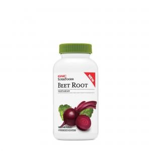 GNC SuperFoods Beet Root, Radacina de Sfecla Rosie, 90 cps