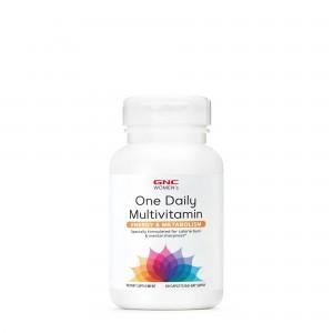 GNC Women's Ultra Mega - Energy & Metabolism One Daily, Complex de Multivitamine Pentru Femei, 60 tb