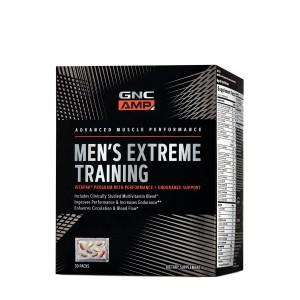 GNC AMP Men's Extreme Training, Program Vitapak® Pentru Performanta si Anduranta, 30 Pachete