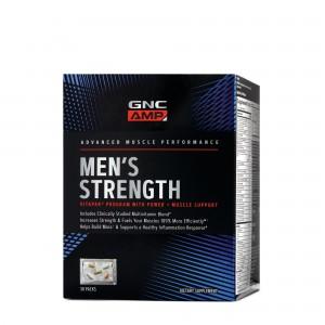 GNC AMP Men's Strength, Formula Pentru Cresterea Masei Musculare,  30 Pachete