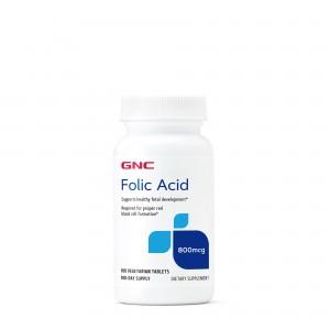 GNC Acid Folic 800 mcg, 100 tb