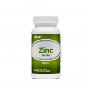 GNC Zinc Chelat 50 mg, 100 tb