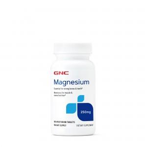 GNC Magnesium 250 mg, Magneziu, 90 tb