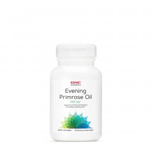 GNC Women's  Evening Primrose Oil 500 mg, Ulei de Luminita Noptii, 90 cps