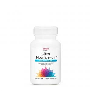 GNC Women's Ultra NourishHair™, Complex de Multivitamine Pentru Par, 60 tb