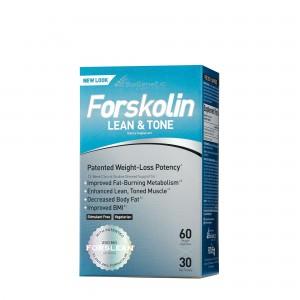 BioGenetic Laboratories Forskolin Lean & Tone, Formula Pentru Slabire si Tonifiere, 60 cps