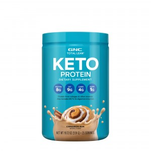GNC Total Lean®, Proteina Keto cu Aroma Naturala de Scortisoara, 559 g