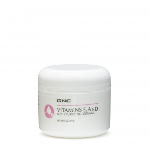 GNC Vitamins E, A & D Moisturizing Cream, Crema Hidratanta Cu Vitaminele E, A Si D, 57 g