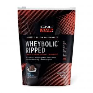 GNC AMP Wheybolic™ Ripped, Proteina din Zer, cu Aroma de Biscuiti cu Crema, 585 g