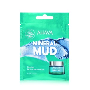 Ahava Single Use Clearing Facial Treatment Mask, Masca Pentru Curatarea si Detoxifierea Tenului, 6 ml
