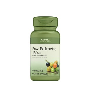 GNC Herbal Plus® Saw Palmetto 160 mg, Extract Standardizat de Palmier Pitic, 60 cps