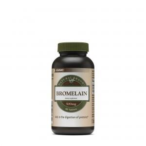 GNC Natural Brand™ Bromelain 500mg, Bromelaina, 60 tb