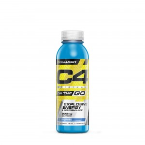 Cellucor® C4® Original On The Go, Formula Pre-Workout, cu Aroma Ice Blue Razz, 346 ml