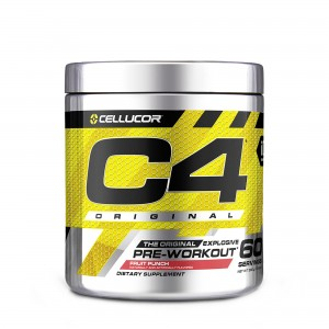 Cellucor® C4® Original, Formula Pre-Workout, cu Aroma de Punch de Fructe, 360 g