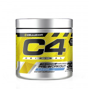 Cellucor® C4® Original, Formula Pre-Workout, cu Aroma de Zmeura Albastra, 390 g
