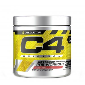 Cellucor® C4® Original, Formula Pre-Workout, cu Aroma de Punch de Fructe, 180 g