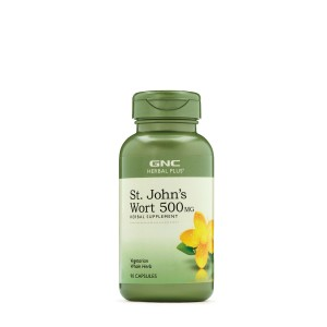 GNC Herbal Plus® St. John's Wort, Sunatoare 500 mg, 90 cps