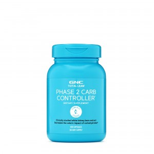 GNC Total Lean® Phase 2 Carb Controller®, Controlul Carbohidratilor, 120 cps