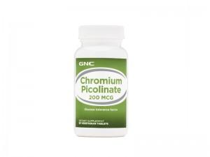 GNC Chromium Picolinate 200 mcg, Crom Picolinat, 90 tb