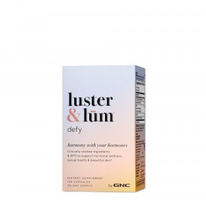 GNC luster & lum® Defy, Suport Hormonal si Piele Frumoasa, 120 Cps