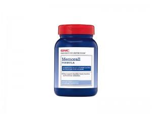 GNC Preventive Nutrition® Memorall, Formula Pentru Sustinerea Memoriei, 60 cps
