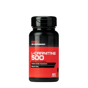 GNC Pro Performance® L-Carnitine 500 mg, L-Carnitina, 60 tb