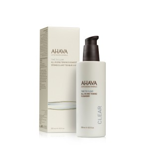 Ahava All in One Toning Cleanser, Tonic Curatare 3 in 1, 125 ml