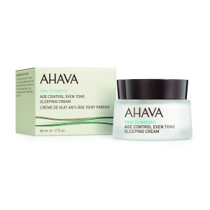 Ahava Age Control Even Tone Sleeping Cream, Crema de Noapte Antirid, 50 ml