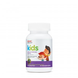GNC Milestones® Kid's Immune Defense Gummy, Formula Pentru Copii, cu Aroma de Struguri, 60 Jeleuri