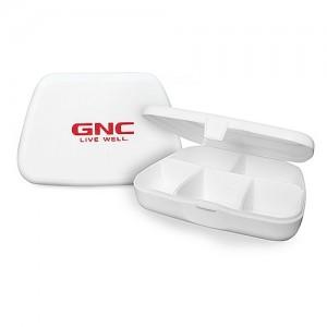 GNC Pill Box, Cutie Depozitare Capsule si Tablete