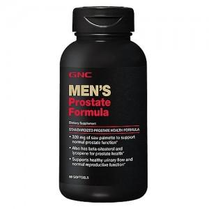 GNC Men`s Prostate Formula, Formula Pentru Prostata, 60 cps