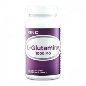 GNC L-Glutamine 1000 mg, L-Glutamina, 50 tb