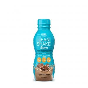 GNC Total Lean® Lean Shake™ Burn, Shake Proteic RTD cu Aroma de Ciocolata si Cafea, 414 ml