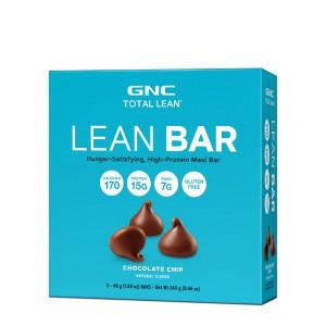 GNC Total Lean® Lean Bar, Baton Proteic, cu Aroma de Fulgi de Ciocolata, 48 g