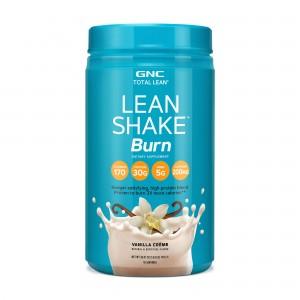 GNC Total Lean® Lean Shake™ Burn, Shake Proteic, cu Aroma de Vanilie, 739.2 g