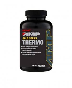GNC AMP Gold Series Thermo, Complex pentru Energie si Metabolism, 60 tb