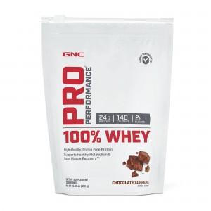 GNC Pro Performance® 100% Whey, Proteina din Zer, cu Aroma de Ciocolata, 426 g