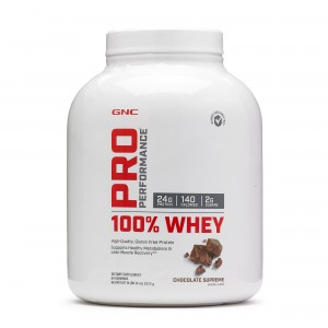GNC Pro Performance® 100% Whey, Proteina din Zer, cu Aroma de Ciocolata, 2272 g