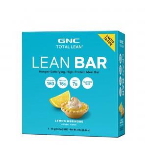 GNC Total Lean® Lean Bar, Baton Proteic, cu Aroma de Tarta de Lamaie, 48g